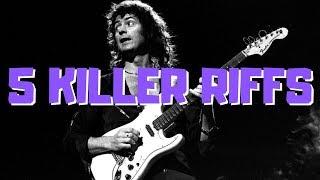 5 Killer Blackmore Riffs (That Aren't Smoke on the Water)