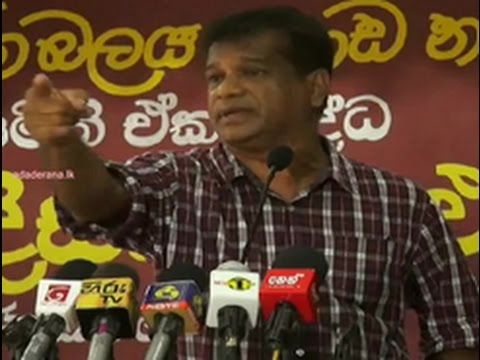 Govt. wants to promote 'political thuggery' - JVP