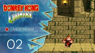 Donkey Kong Country [Livestream] - #02 - Suche das Bonus-Level