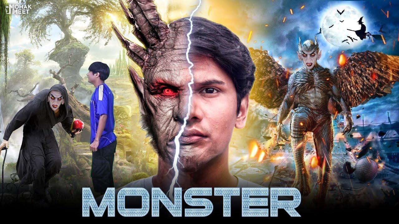 जादुई APPLE खाकर बाना MONSTER : मॉन्स्टर SHORT FILM | HINDI MORAL STORY || MOHAK MEET