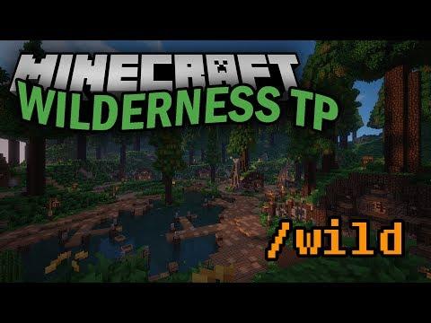 Minecraft Plugin Display: Wilderness-TP