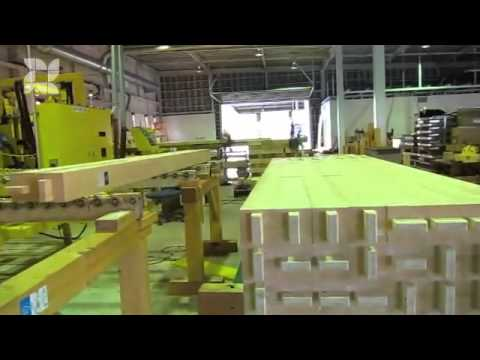 Precut modern japanese timber construction youtube for Pre cut homes