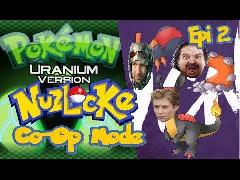 Pokemon Uranium Nuzlocke Co Op part 2 (Friends lost)
