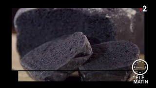 Gourmand - Pain tout noir au charbon