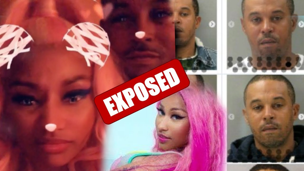 bc8fbdbe837e Nicki Minaj mystery MAN gets EXPOSED as a User and he has a thing for kids