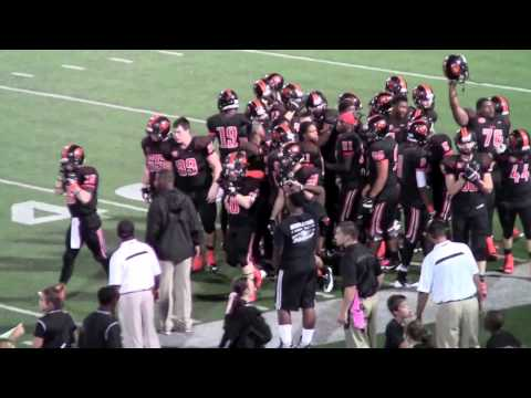 Highlights - Henderson Lions vs Gilmer Buckeyes - Oct 12, 2013