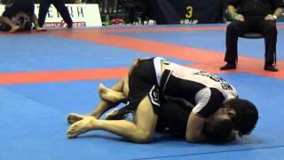 Matheus Diniz vs Gilbert Burns, Black Belt Adult Male Open Class Final, 2015 NY Summer NO GI