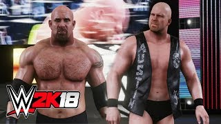 WWE 2K18 Dream Match - Goldberg Vs Stone Cold Steve Austin