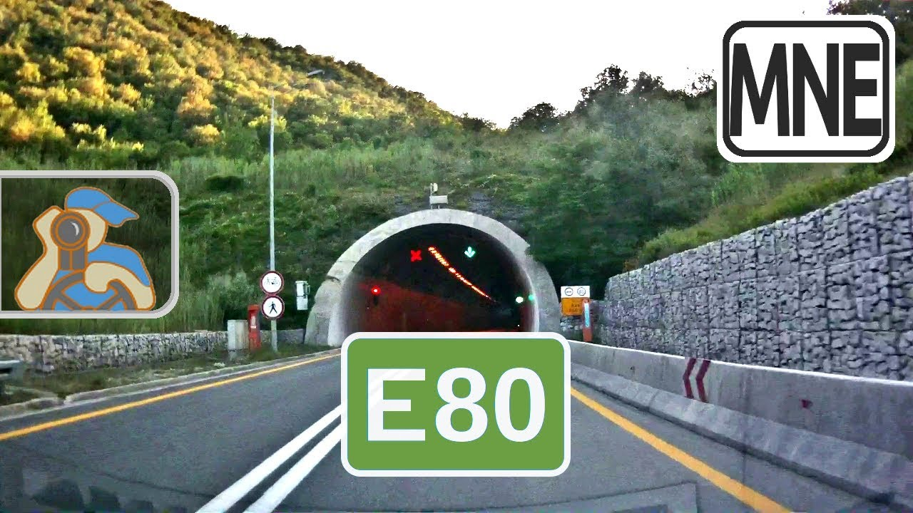 mapa sutomore crna gora Crna Gora. M2, E80, M2.4, E851. [ Skadarsko Jezero   Sozina Tunnel  mapa sutomore crna gora
