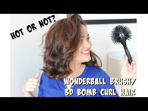 Testei: Wonderwall Brush/ 3D bomb curl brush réplica; Hot or not?