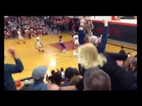 Bro From Honesdale High School Brings Down The Backboard On Sick Dunk