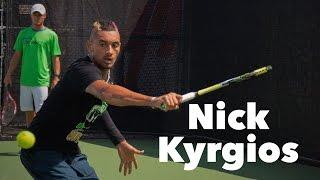 Nick Kyrgios • Training Session 2015