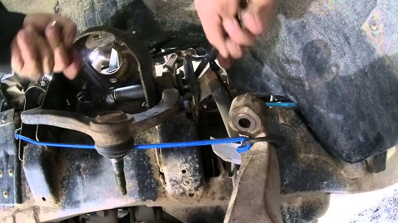 F150 Upper Control Arm Replacement DIY  YouTube