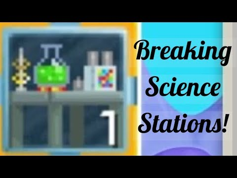 Breaking 357 Science Stations! (Lucky?) | Growtopia