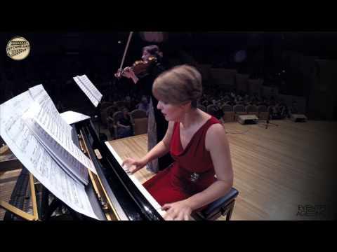 Elena Revich Polina Osetinskaya - Beethoven 7th sonata + Dikhtas by Xennakis