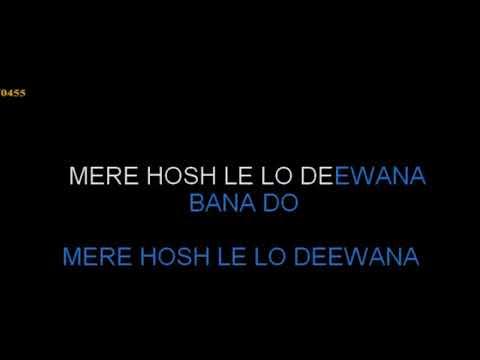 Mere Hosh Le Lo Deewana Bana Do Karaoke With Female Voice Kishore & Asha