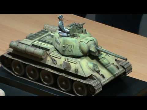 Juan Mercadal - Técnicas de pintura en carros de combate WWII - Parte I