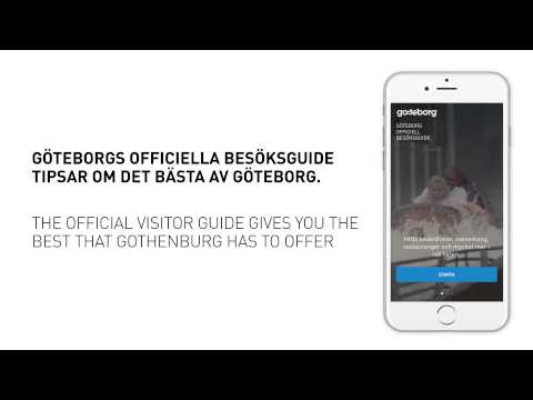App: The Official Visitor Guide to Gothenburg