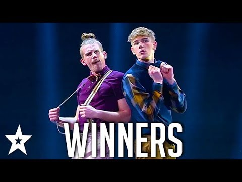 WINNERS Moonlight Brothers on Denmark's Got Talent 2018