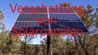 Wie wirkt sich Verschattung auf Solarmodule aus?