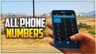 GTA 5: All Secret/Hidden Phone Numbers (GTA 5 Easter Eggs)
