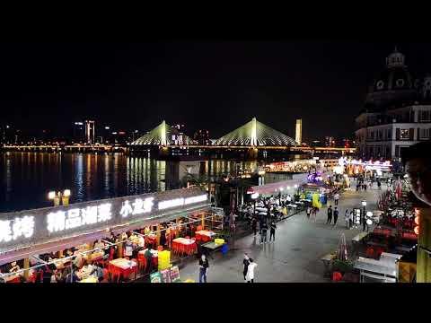 CHANGSHA | 4K | Night Life | Xiang River #changsha #china #timelapse #xiangjiang