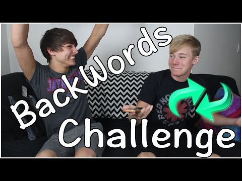 BACKWORDS CHALLENGE
