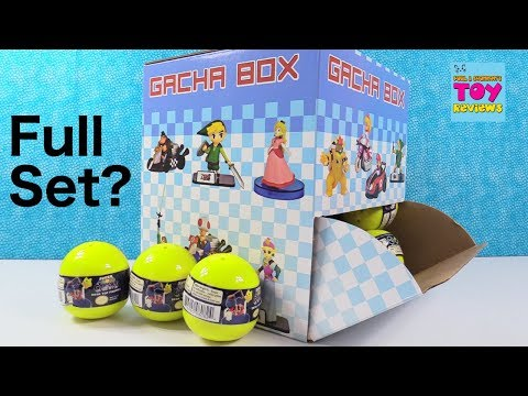 Super Mario Galaxy Nintendo Desk Top Figure Opening Toy Review | PSToyReviews