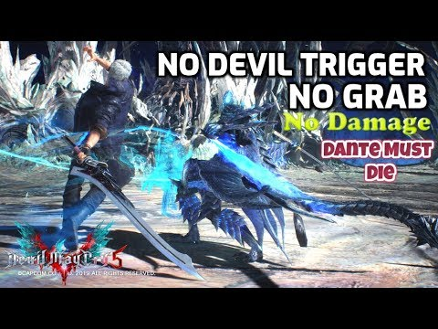 Devil May Cry 5 Sword Only [NO DT, NO BUSTER, NO DAMAGE] DMD Vergil VS Nero Mission 20 thumbnail