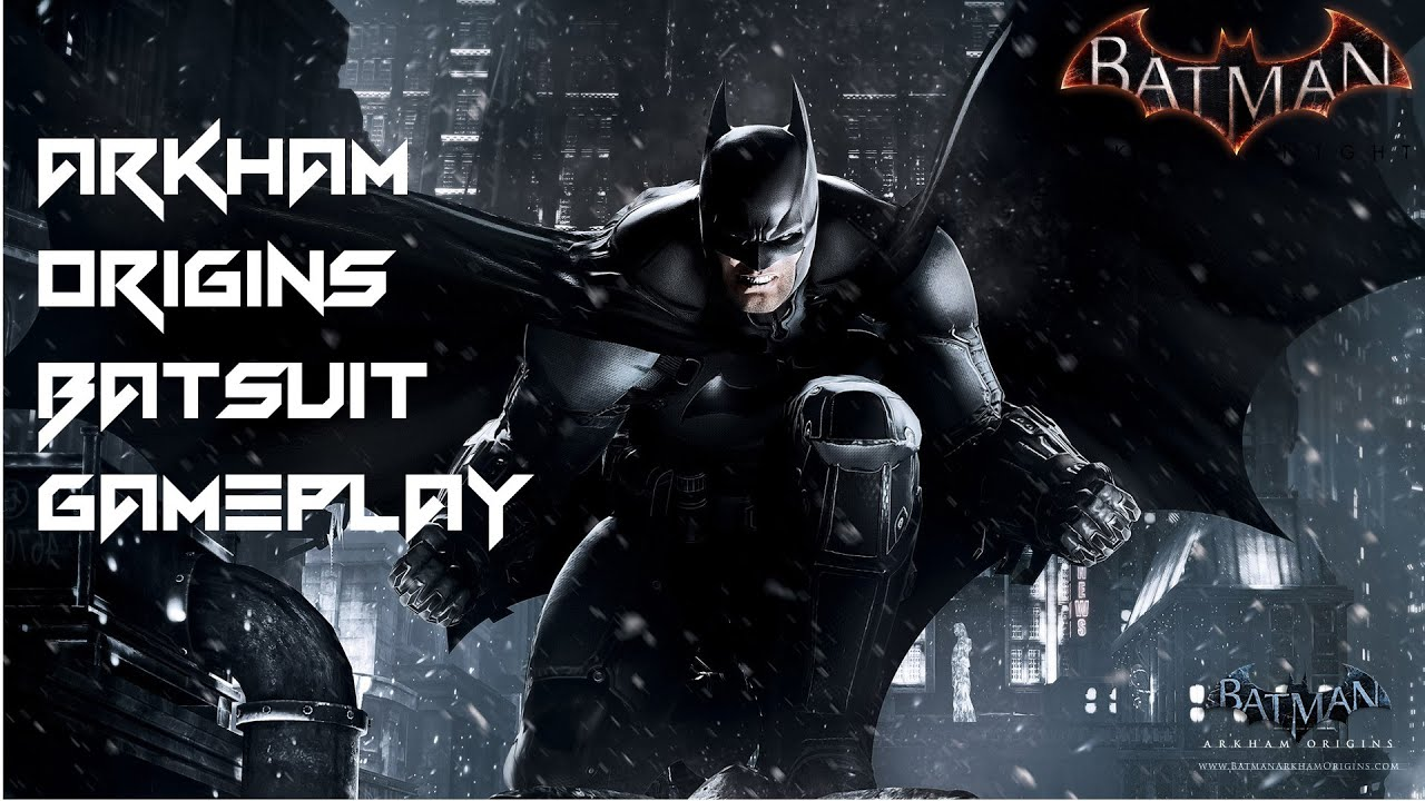 Batman: Arkham Knight- Arkham Origins Batsuit Gameplay ...