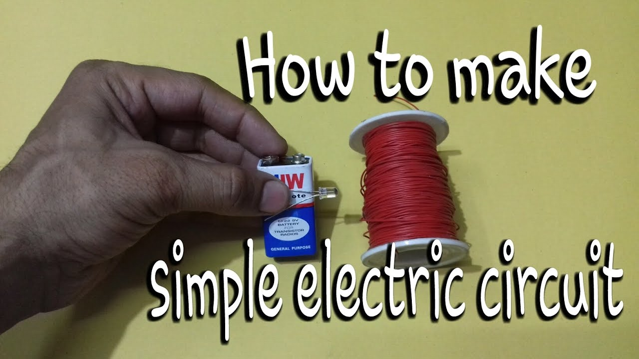 How To Make Model Of Simple Electric Circuit