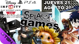 SPLASH TV GAMES (Jueves 21 Agosto 2014)