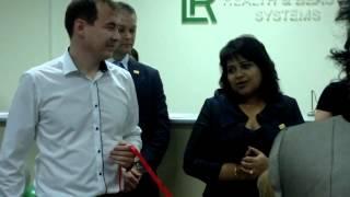 Открытие офиса продаж ЛР в Астане  Шармила Чаттерджи