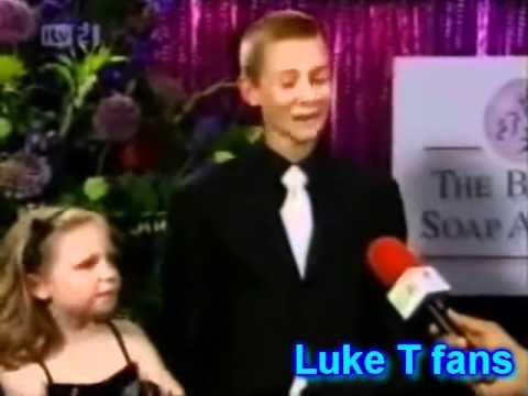 Luke  winning Best Spectacular