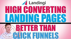 Landingi - How To Create High Converting Landing Pages - Clickfunnels Alternative