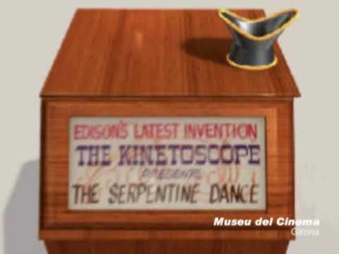 Edison's Kinetoscope. Museu del Cinema