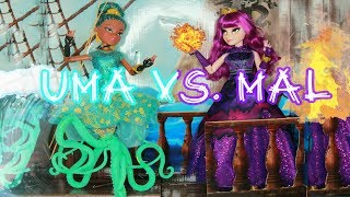 Descendants 2 UMA VS. MAL Stop Motion FULL MOVIE