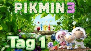 Let's Play Pikmin 3 Part 1: Auf Nahrungssuche für Koppai