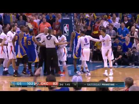 kevin durant said fuck you to Russell Westbrook to his face