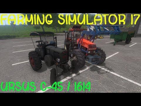🚜URSUS 1614 / URSUS C-45 / OWIJARKA / Farming Simulator 17 Mody
