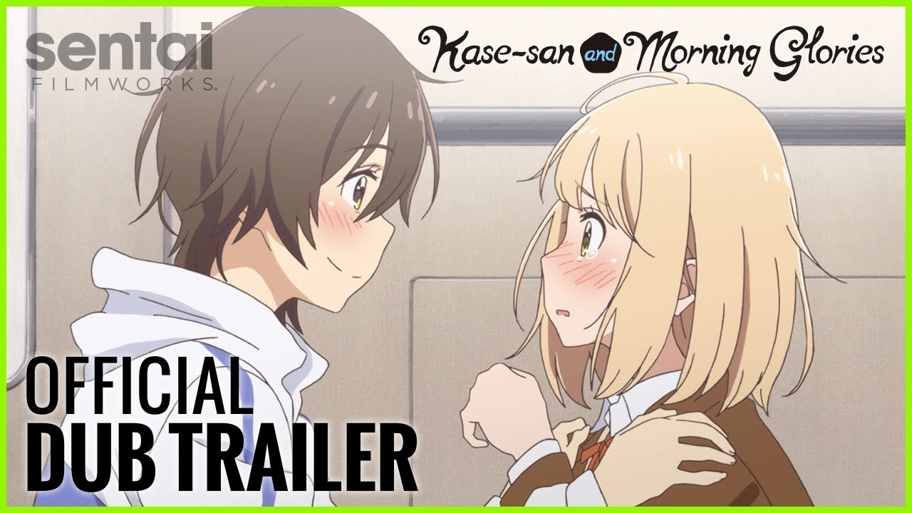 Kase-san and Morning Glories Official Dub Trailer
