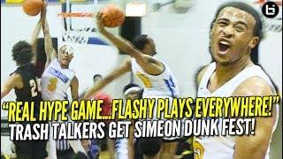 Simeon DUNK FEST is HYPE! Talen Horton-Tucker, Xavier Pinson Silence Trash-Talking Team! Highlights!