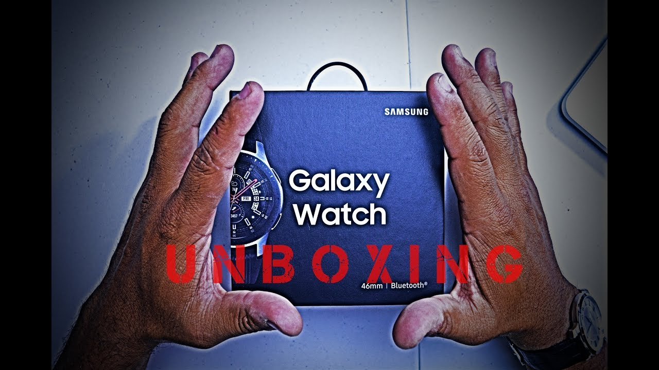 Galaxy Smartwatch 2018 Unboxing
