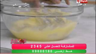 المطبخ - طبق الحلويات - بسبوسة بطريقة محلات الحلويات - الشيف يسري خميس - Al-matbkh