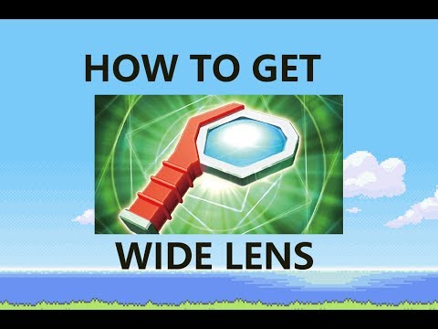 How to get the Wide Lens in Pokemon Brick Bronze Roblox ...