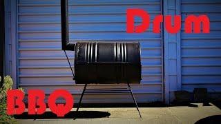 Oil Drum Barbeque