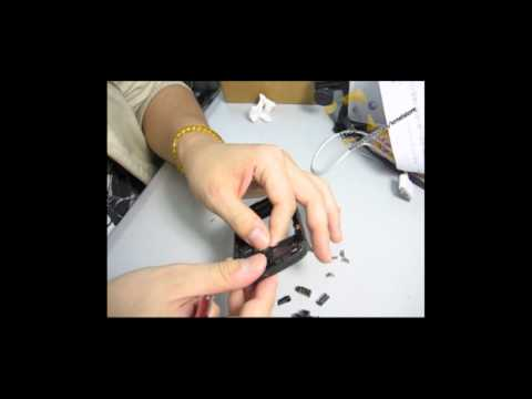 BlackBerry Curve 8520 Chassis Disassembly Tutorial by Kr net