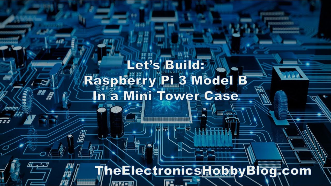 Put a Raspberry Pi in a Mini Tower Case