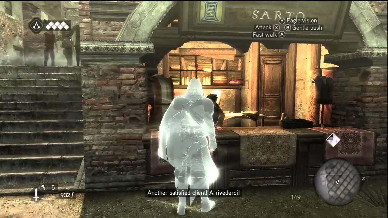 Assassin S Creed Brotherhood Gameplay 1 3 Youtube