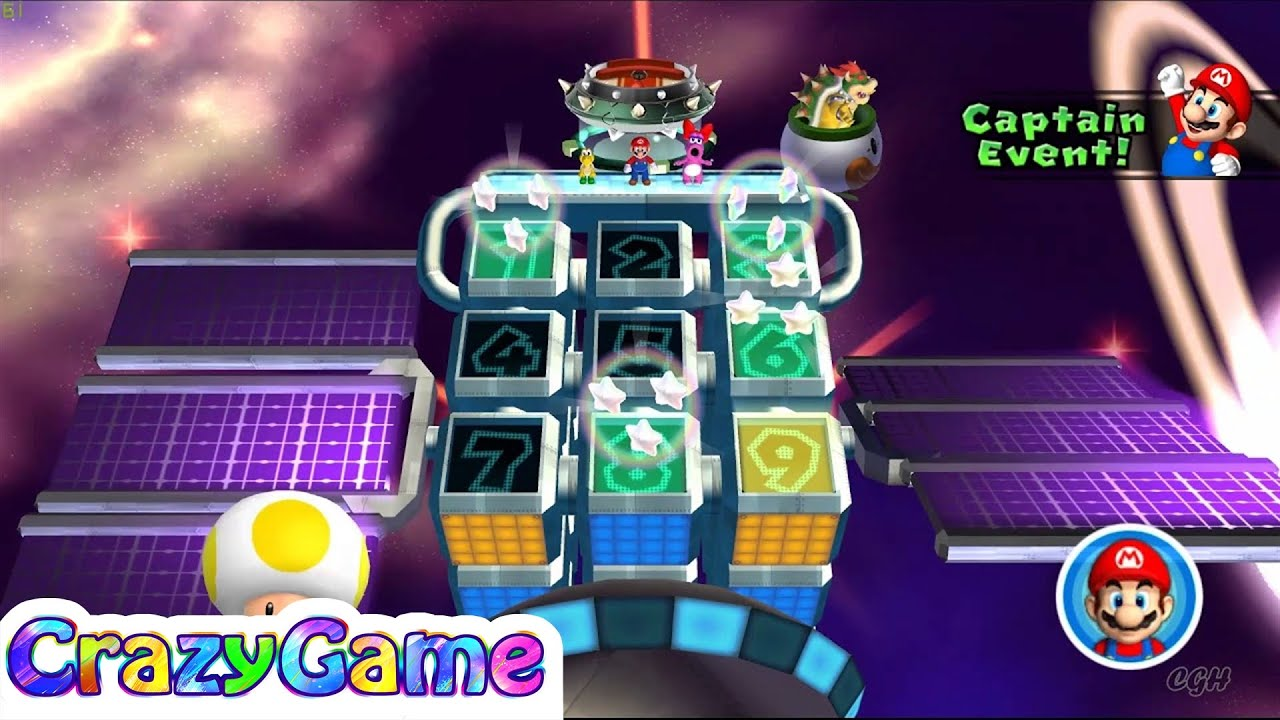 Mario Party 9 Bowser Station Party 28 Master Difficult Youtube